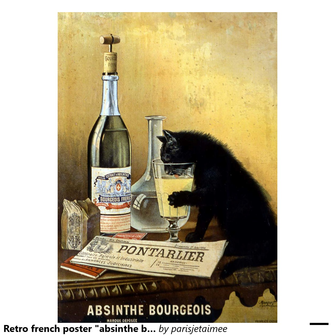 9 frères mourgues absinthes bourgeois