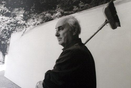 Olivier Debré Rideau de scène de l'Opéra de Shanghai, 1998 Peinture sur toile, 22m x 14m