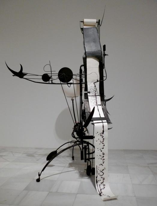 Jean Tinguely Machine à dessiner n°3, 1955 54,5 x 106 x 33 cm