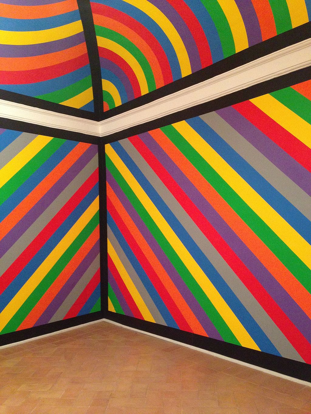 Sol LeWitt Wall drawing