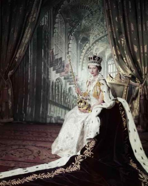 Coronation Day, 2 June 1953 CREDIT LINE: Photograph: Cecil Beaton. Royal Collection Trust/ (C) Her Majesty Queen Elizabeth II 2015 Image for use ONLY in connection with the Long To Reign Over Us displays at the Summer Opening of Buckingham Palace, Windsor Castle and the Palace of Holyroodhouse. Images must not be archived or sold-on.
