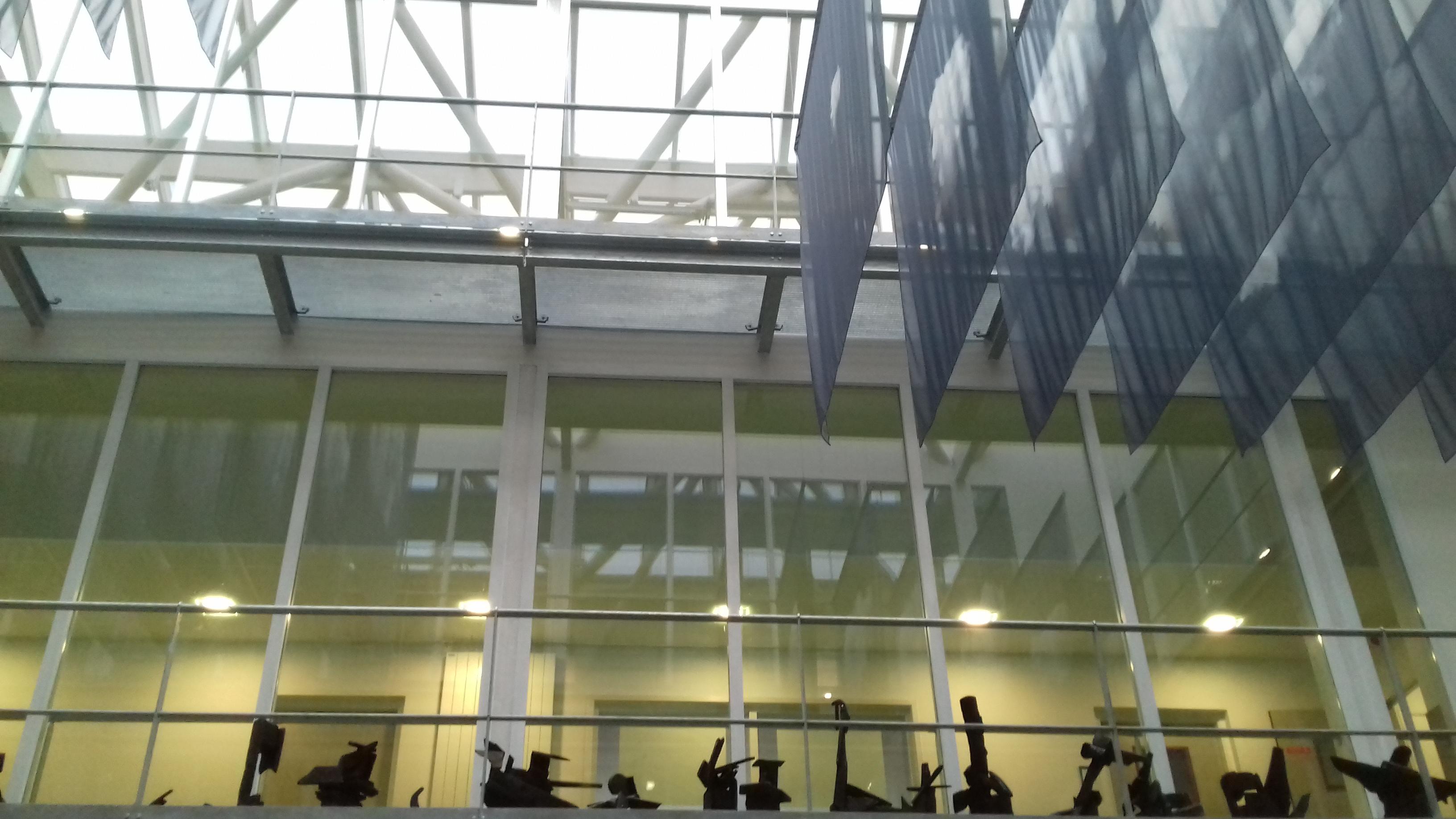 Atrium (contre-plongée)