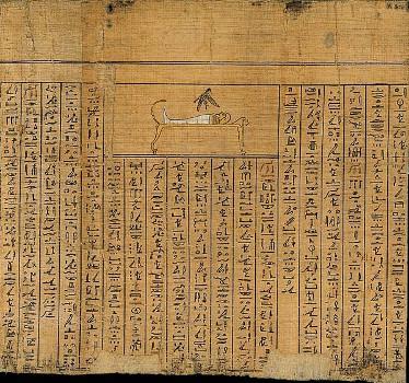 Livre des morts Papyrus Cadet