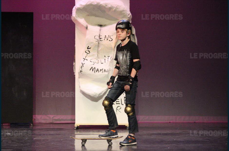 théâtre juin 2019 article Progrès (9)